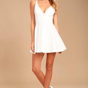 Believe in Love White Dress